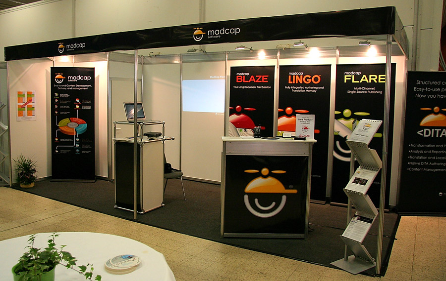 MadCap Software booth at Tekom 2008