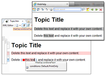 Tips and Tricks: Applying Formatting to Conditions in Outputs