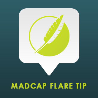 Madcap flare tip how to align content with your list items for Madcap flare templates
