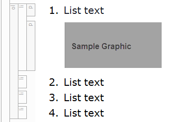 aligning graphics in lists in madcap flare