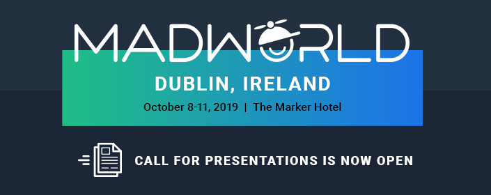 MadWorld 2019 Dublin Call for Presentations